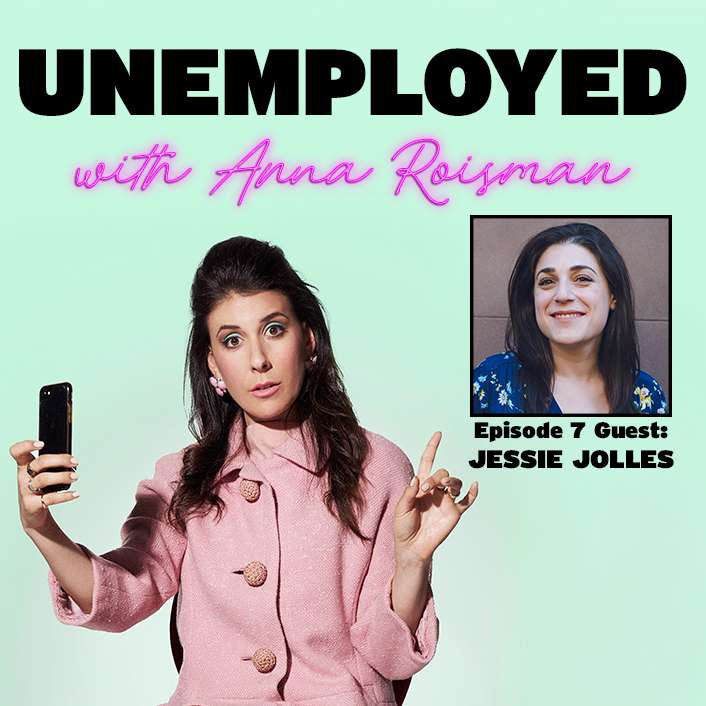 Episode 7: Office Hours In A Bathroom Stall with Jessie Jolles