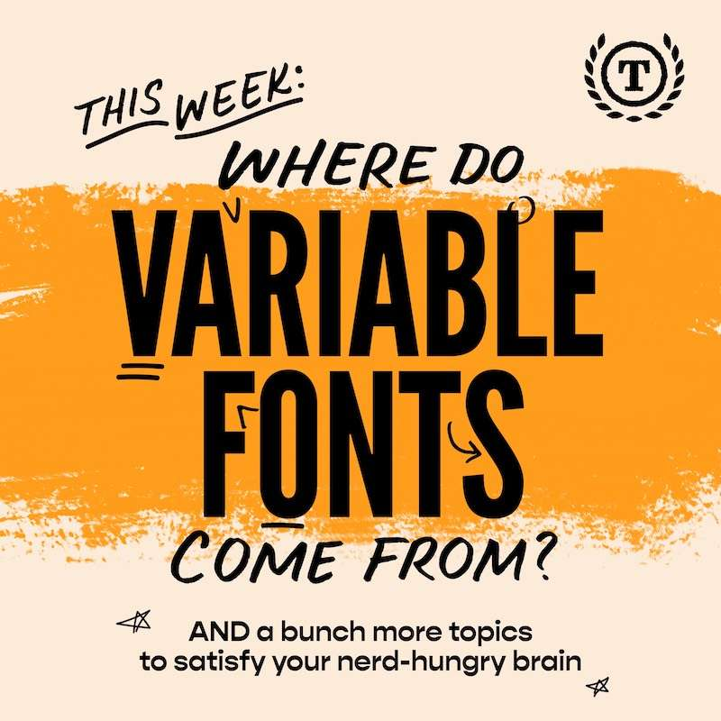 DIY Pixel Fonts + A History Of Variable Fonts