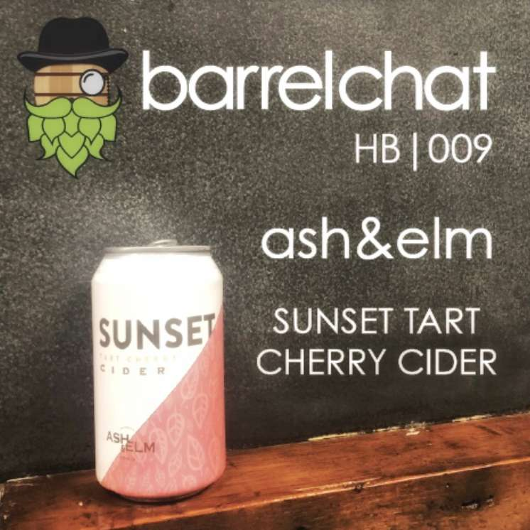 HB009: Ash & Elm Sunset Tart Cherry Cider