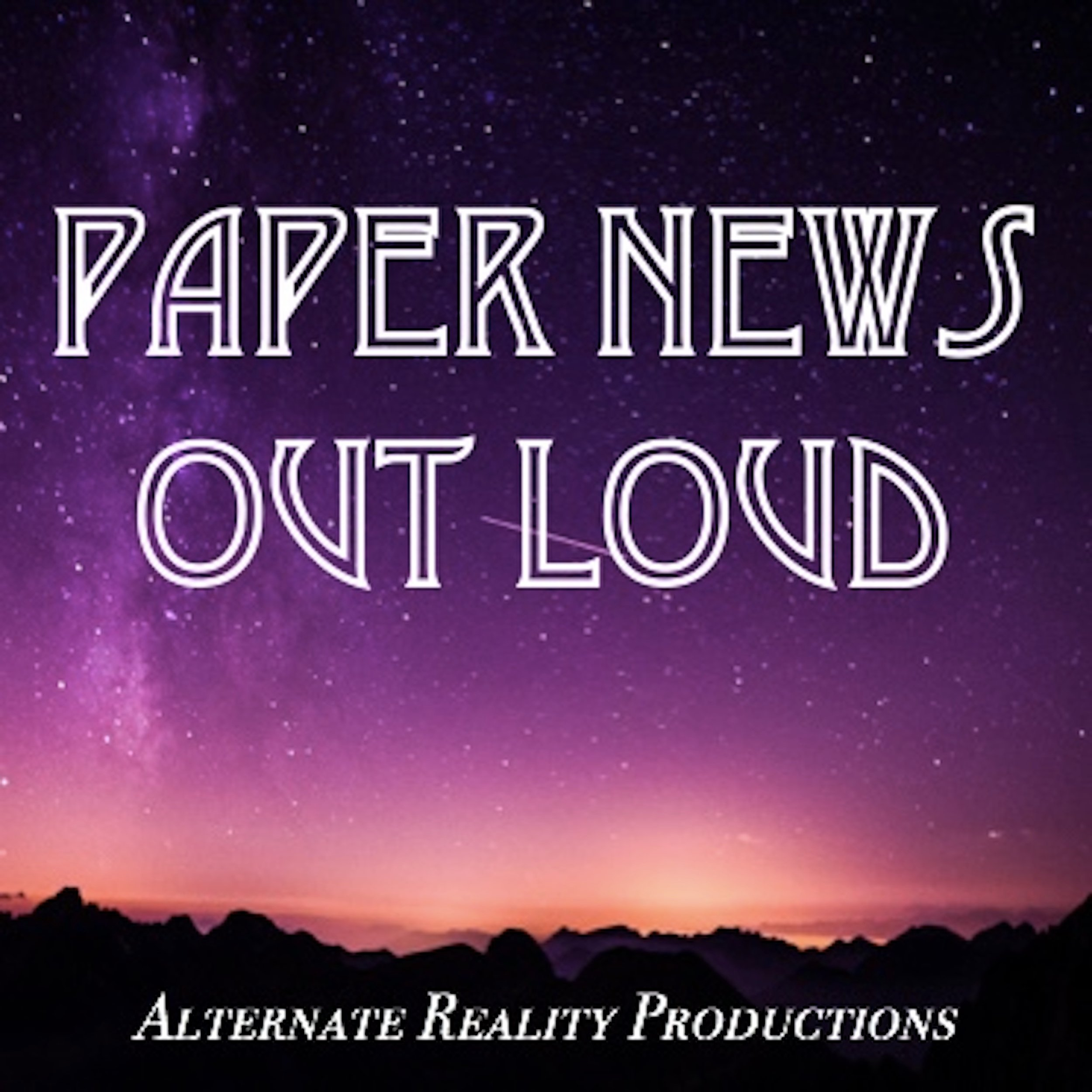 Paper News Out Loud podcast show image