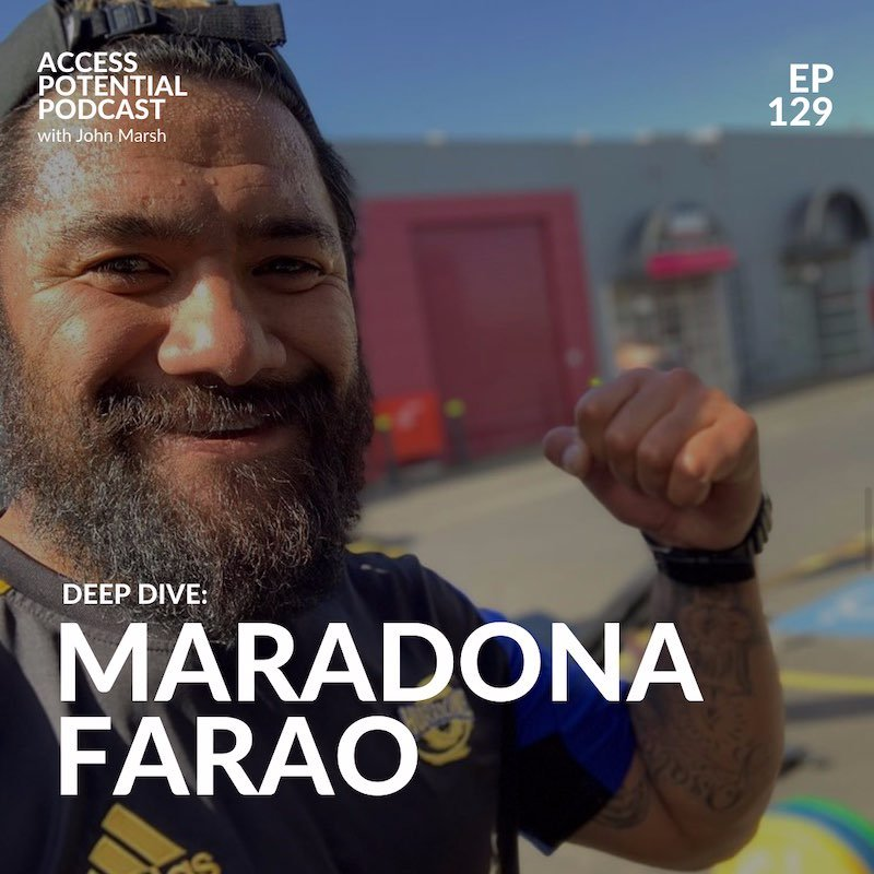 #129 Maradona Farao: The path to leadership is through service